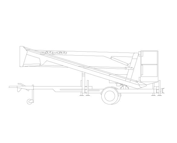 Product: Nifty 120 | 12.3m Trailer Mount