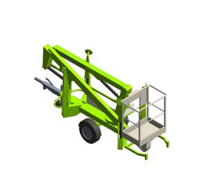 Product: Nifty 120T | 12.2m Trailer Mount