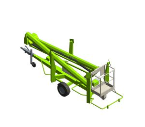 Product: Nifty 170 | 17.1m Trailer Mount