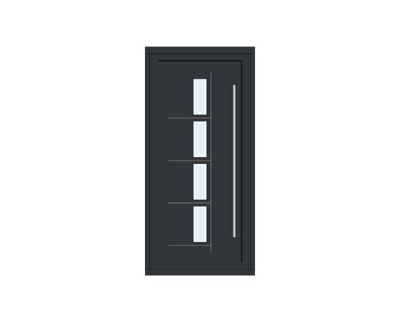 Product: Single Leaf Front Door - Kensington - CO 01