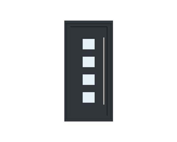 Product: Single Leaf Front Door - Kensington - GE 01
