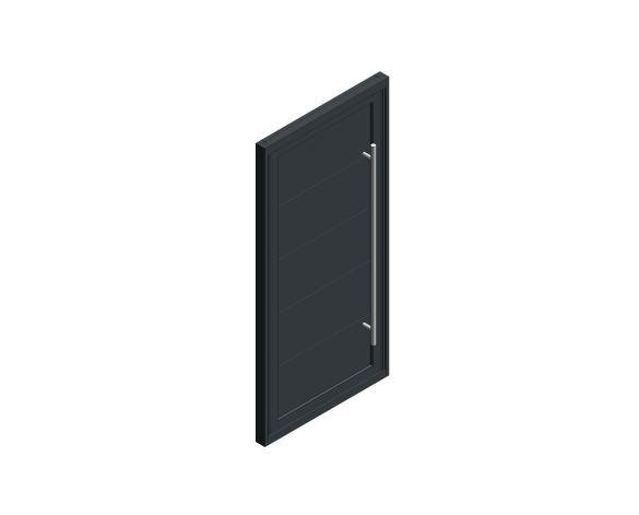 Product: Single Leaf Front Door - Kensington - SE 04