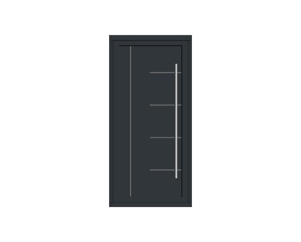 Product: Single Leaf Front Door - Kensington - SE 07