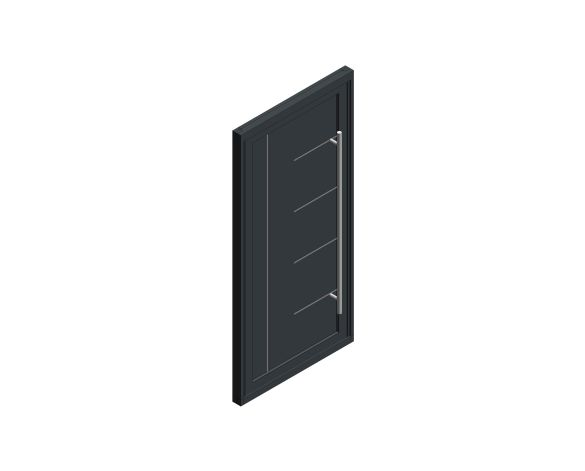 Product: Single Leaf Front Door - Kensington - SE 07