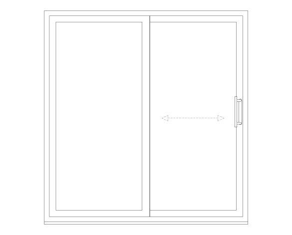 Product_OS-77 Inline Slider Window
