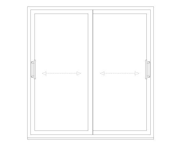 Product: OS-77 Inline Slider Windows
