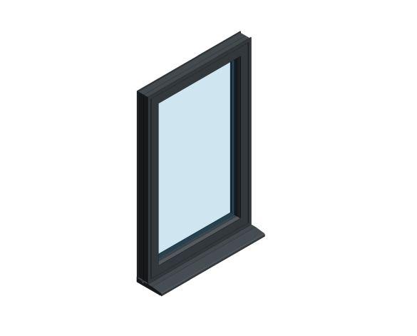 Product: OW-80 Aluminium Window - Top Hung