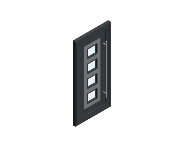 Product: Single Leaf Front Door - Sandringham - CO 04