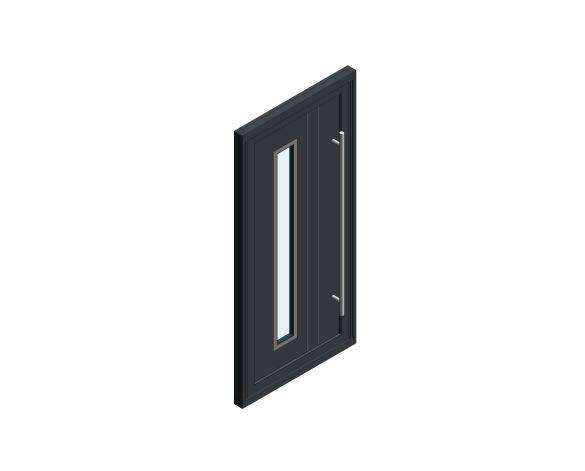Product: Single Leaf Front Door - Sandringham - CO 05