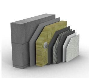 Product: Mineral Fibre External Wall Insulation System