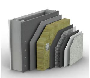 PermaRock Mineral Fibre External Wall Insulation System – Metal Frame