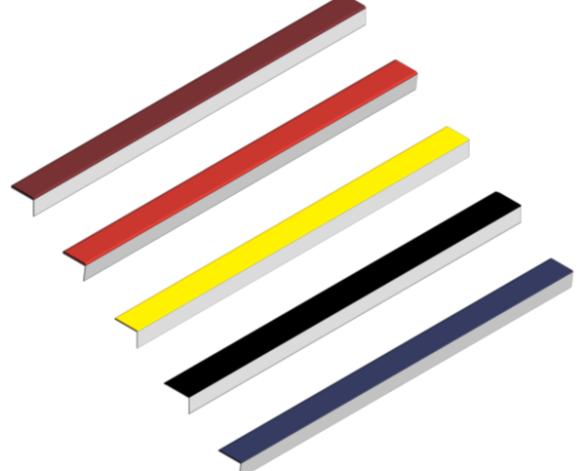 image of Rigid Stair Nosings Q-Range Aluminum
