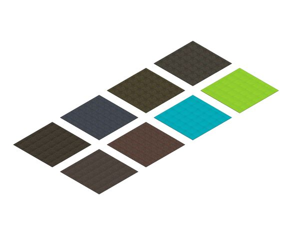 bimstore 3D image of the Dash Tile from Rawson Carpet Solutions