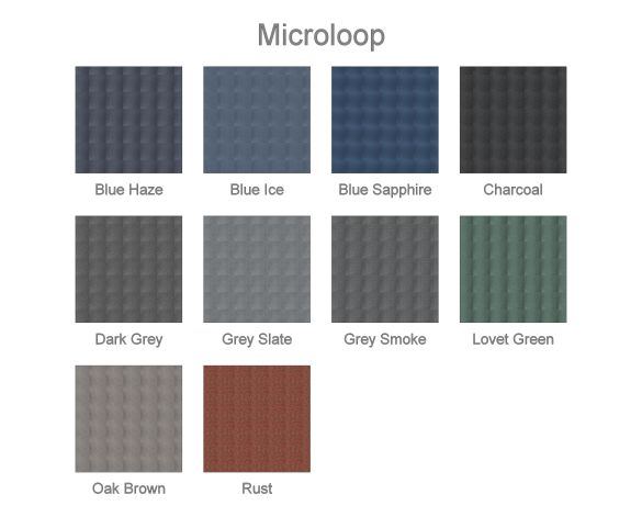 bimstore plan image of the Microloop from Rawson Carpet Solutions