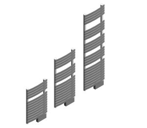 D Series Towel Rail Iso Image