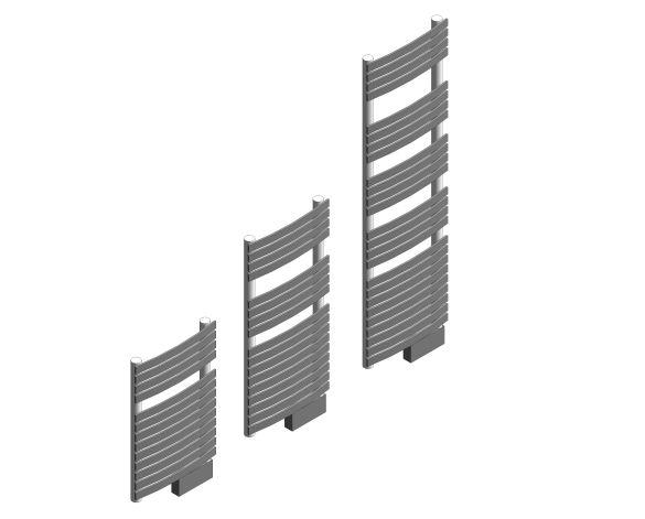 D Series Towel Rail Iso Image
