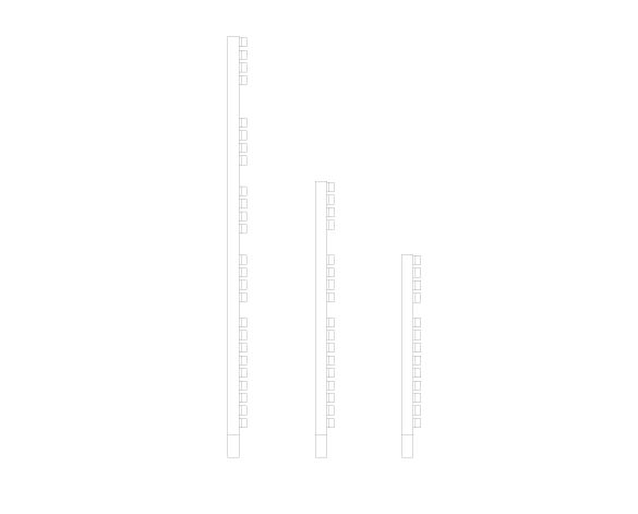 D Series Towel Rail Side Image