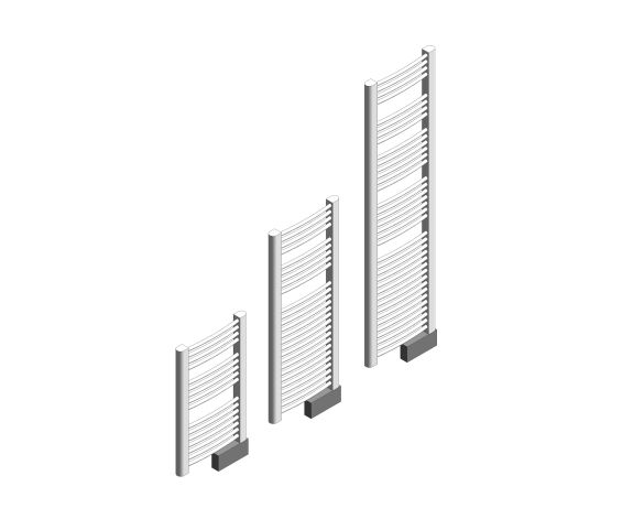 Sygma Towel Rail Iso Image