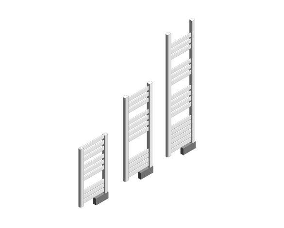 Kyros Towel Rail Iso Image