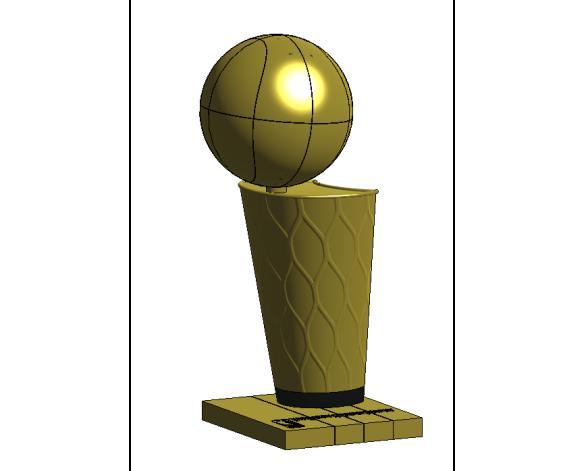 NBA Larry O'Brien Championship Trophy