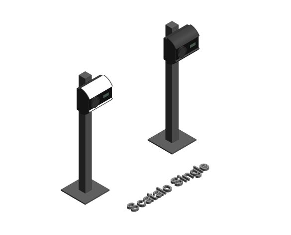 Product: Scatalo Single Pedestal