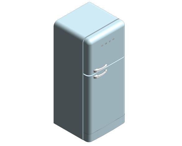 SMEG Refrigerator Freezer