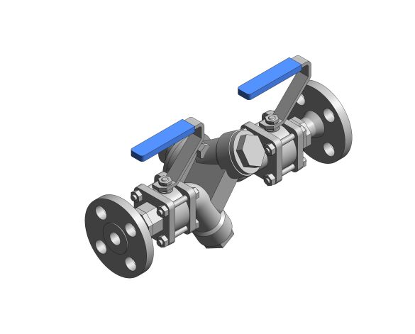 Product: Single Upstream Isolation Steam Trapping Station - Flange ISO