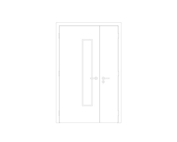 Product: Leaf and a Half Door