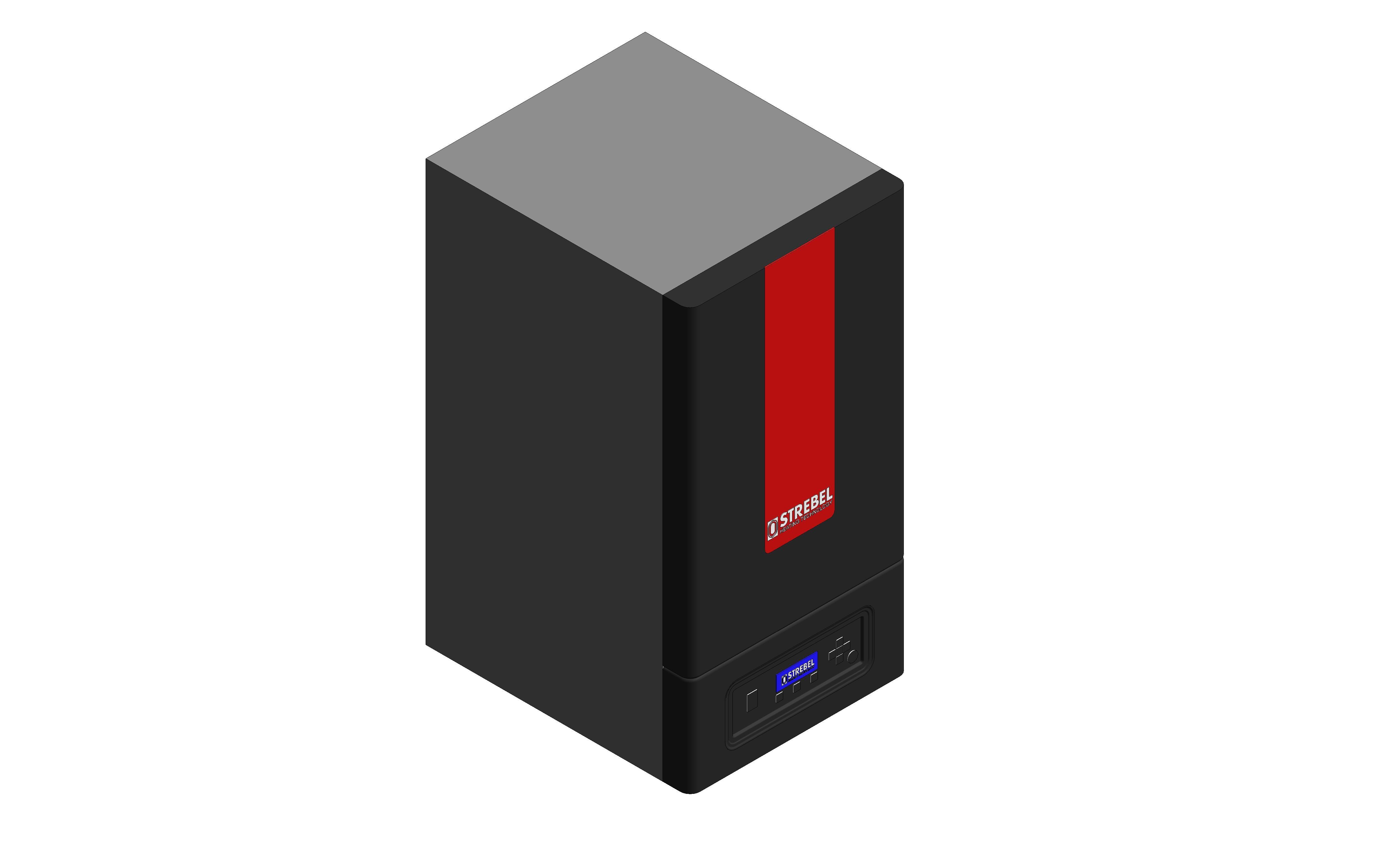 Iso image of strebel s-cbx boiler