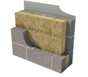 Product: Superglass Party Wall Roll