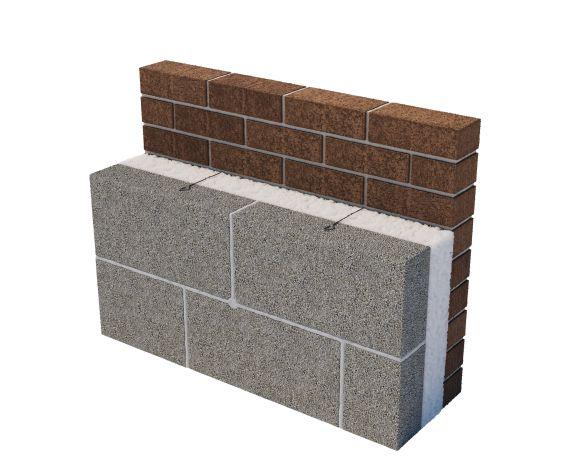 Revit, Bim, Store, Components, Generic, Model, Object, 14, Superglass, insulation, ltd, thermal, Superwhite, 34, Cavity, Wall