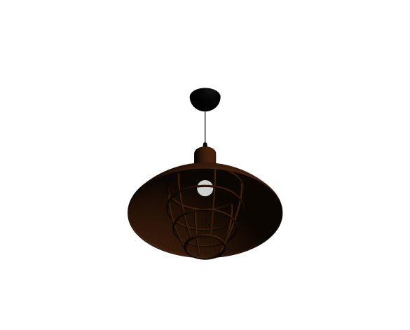 Product: Bella 10 Rusty Industrial Pendant Lighting