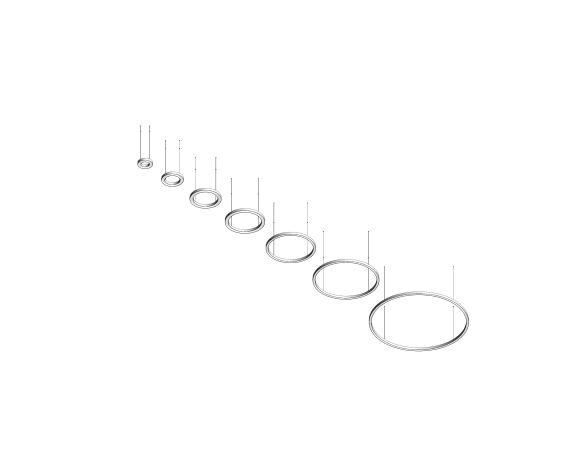 Product: Sombrero Ring LED Pendant