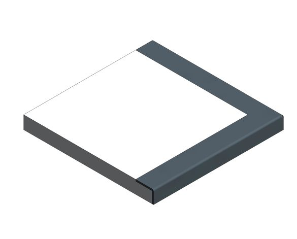 Product: Mayfair Corner Step with Contrasting Nosing
