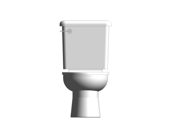 bimstore front image of the Close Coupled 350mm Junior WC Set from Trade Washrooms
