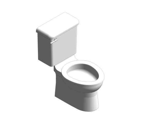 bimstore 3D image of the Close Coupled 350mm Junior WC Set from Trade Washrooms