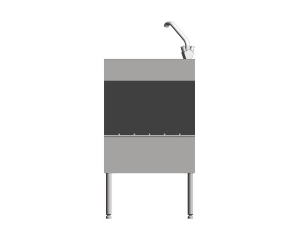 bimstore front image of the Janitorial Unit And Swivel Mixer Tap from Trade Washrooms