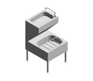 Product: Janitorial Unit And Swivel Mixer Tap