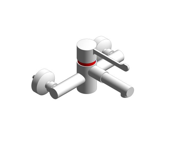bim, store, revit, quality, content, download, free, trade, washrooms, sanitary, ware, plumbing, securitherm, wall, mounted, clinical, wash, mixer, mixing, tap, faucet