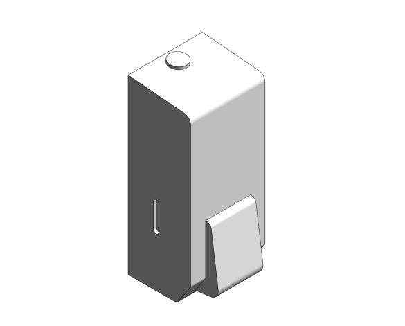 bimstore 3D image of the Stainless Steel Soap Dispenser from Trade Washrooms