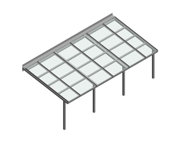 Product: Fabricated Lean-to Canopy