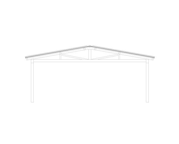Product: Free Standing Barrel Vault Canopy