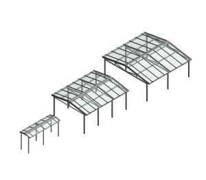 Product: Free Standing Duo Pitch Canopy