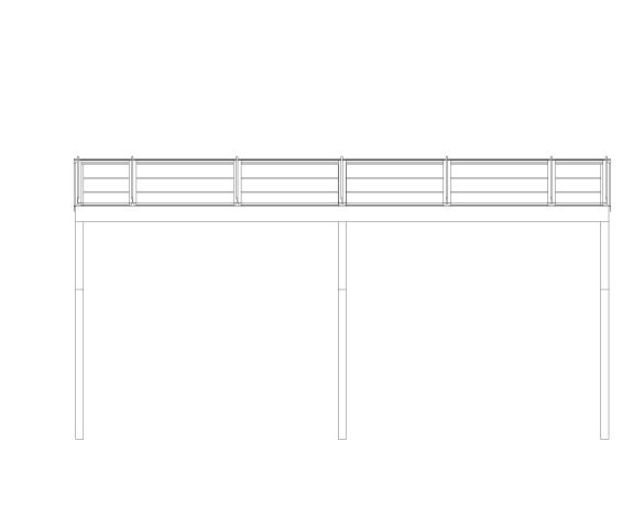 bimstore front image of the Free Standing Mono Pitch Canopy from Twinfix