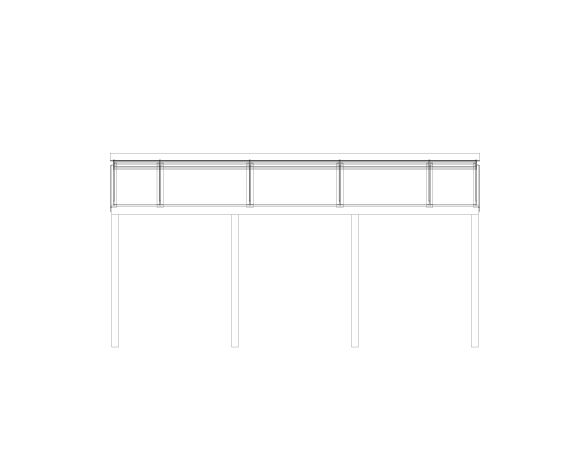Product: Meridian Lean-to Canopy