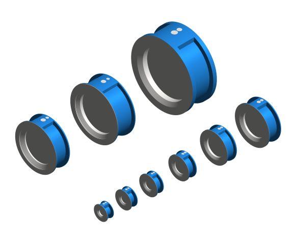 bimstore 3D image of the Watts 895 - Non-return Valve Double plate