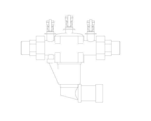 bimstore front image of the Watts BA BM coudes - Backflow preventer BA type