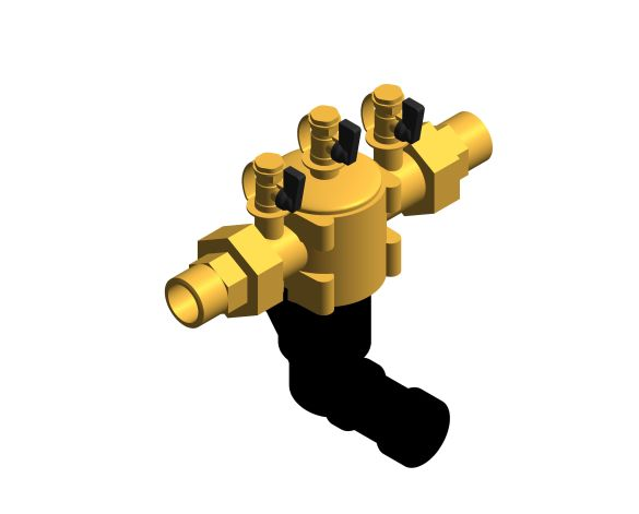 bimstore 3D image of the Watts BA BM coudes - Backflow preventer BA type