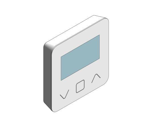 Product: BT-D03-RF - Wireless digital room thermostat