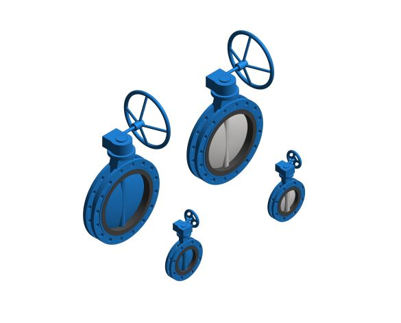 Product: Drinking Water - Sylax With Manual Gear Box - Double Flanged